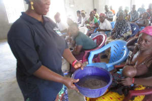 The Water Project: 45 Main Motor Road, The Redeemed Christian Church of God -  Hygiene Demonstration
