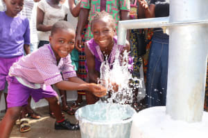 The Water Project: 45 Main Motor Road, The Redeemed Christian Church of God -  Kids Celebrate At The Well