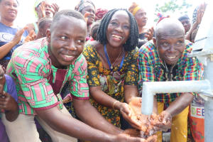 The Water Project: 45 Main Motor Road, The Redeemed Christian Church of God -  Pastor Councilor And Head Man At The Well
