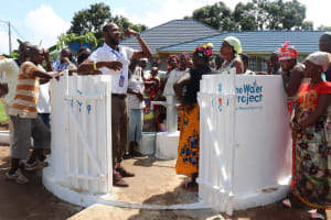The Water Project: 45 Main Motor Road, The Redeemed Christian Church of God -  Staff Train On Caring For The Well