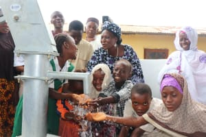 The Water Project: Tholmossor, Masjid Mustaqeem, 18 Kamtuck Street -  Children Celebrate At The Well