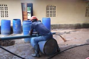 The Water Project: Tholmossor, Masjid Mustaqeem, 18 Kamtuck Street -  Yield Test