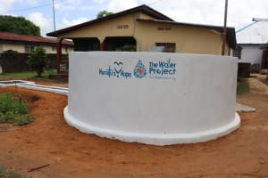 The Water Project: Lungi, Rotifunk, King Fuad Hafis Islamic School -  Completed Well