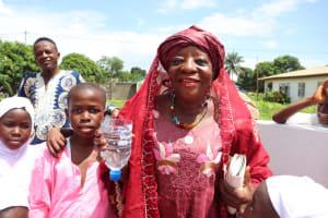 The Water Project: Lungi, Rotifunk, King Fuad Hafis Islamic School -  Madam Haja Sankoh Making A Statement