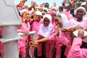 The Water Project: Lungi, Rotifunk, King Fuad Hafis Islamic School -  Students At The Well