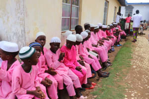 The Water Project: Lungi, Rotifunk, King Fuad Hafis Islamic School -  Students Seated At The Dedication