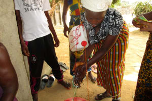 The Water Project: Lungi, Rotifunk, King Fuad Hafis Islamic School -  Tippy Tap Demonstration
