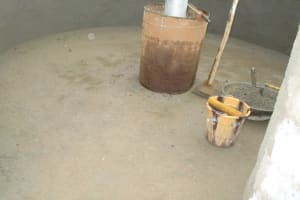 The Water Project: Lungi, Rotifunk, King Fuad Hafis Islamic School -  Well Pad Rough Paving