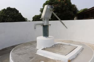 The Water Project: Targrin Health Post -  Completed Pump