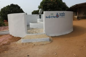 The Water Project: Targrin Health Post -  Completed Well