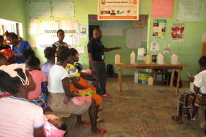 The Water Project: Targrin Health Post -  Hygiene Facilitator At The Trianing