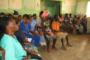 The Water Project: Targrin Health Post -  People At The Training