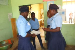 The Water Project: Targrin Health Post -  Students Participate In Training