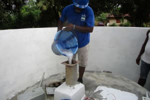 The Water Project: Lungi, Suctarr, 10 Khalil Lane -  Chlorination