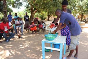 The Water Project: Lungi, Suctarr, 10 Khalil Lane -  Handwashing Demonstration