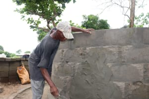 The Water Project: Lungi, Suctarr, 10 Khalil Lane -  Pad Construction