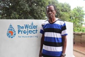 The Water Project: Lungi, Suctarr, 10 Khalil Lane -  Richmond Samuel Ndowu