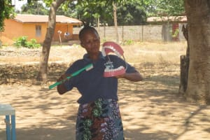 The Water Project: Lungi, Suctarr, 10 Khalil Lane -  Trainer Goes Over Toothbrushing