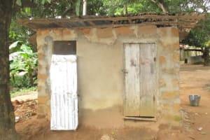 The Water Project: Lungi, Masoila, #3 Kamara Street -  Latrine