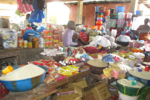 The Water Project: Lungi, Masoila, #3 Kamara Street -  Marketplace