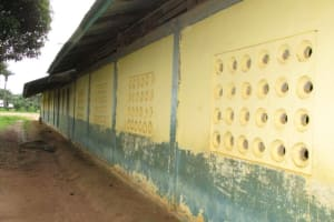 The Water Project: Lungi, Lungi Town, Holy Cross Primary School -  Back Of School Building