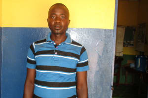 The Water Project: Lungi, Lungi Town, Holy Cross Primary School -  Brima Dumbuyah School Teacher