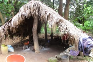 The Water Project: Lungi, Lungi Town, Holy Cross Primary School -  Kitchen