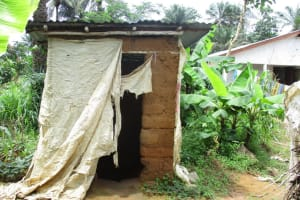 The Water Project: Lungi, Lungi Town, Holy Cross Primary School -  Latrine