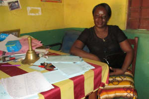The Water Project: Lungi, Lungi Town, Holy Cross Primary School -  Mariatu A Gbla Deputy Head Teacher