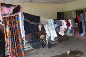 The Water Project: Lungi, Tintafor, #3 DelMoody Street -  Clothesline