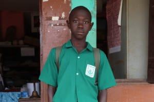 The Water Project:  John Kamara School Head Boy