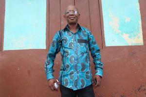 The Water Project:  Mr Almammy K Kamara