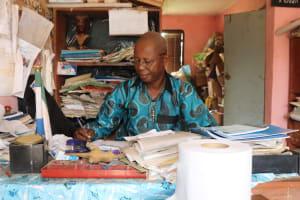 The Water Project:  Mr Almamy K Kamara Head Teacher