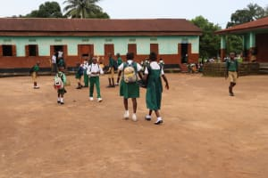 The Water Project:  Students Outside