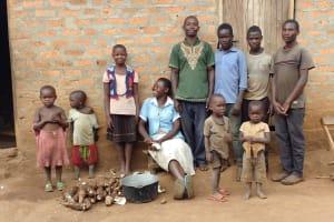 The Water Project:  Kyaligonza Family