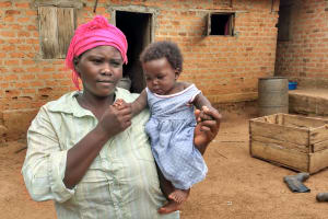 The Water Project:  Roselyne And Baby