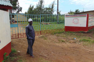 The Water Project: Friends School Ikoli Secondary -  School Guard At The Gate