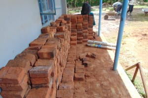 The Water Project: Womulalu Special School -  Bricks Ready For Work