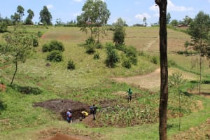 The Water Project: Emmachembe Community, Magina Spring -  Community Landscape