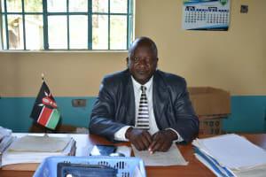 The Water Project: Ebubole UPC Secondary School -  Principal Macdaff Lutomia Wamalwa