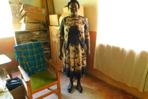 The Water Project: Makale Primary School -  Head Teacher Mrs Grace Simwa