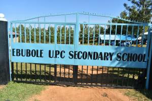 The Water Project: Ebubole UPC Secondary School -  School Gate