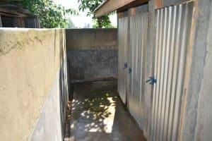 The Water Project: St. Peter's Khaunga Secondary School -  Boys Latrines