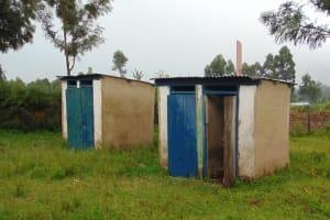 The Water Project: Friends School Ikoli Secondary -  Girls Latrine Block