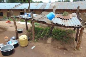 The Water Project: Kapsogoro Primary School -  Dishrack