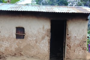 The Water Project: Kapsogoro Primary School -  Outside The Kitchen