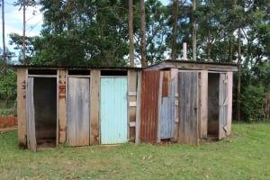 The Water Project: St. Gerald Mayuge Secondary School -  Boys Latrine Block