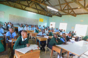 The Water Project: Ebubole UPC Secondary School -  Students In Class