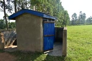 The Water Project: ACK St. Peter's Khabakaya Secondary School -  Boys Latrines