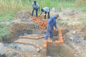 The Water Project: Sichinji Community, Kubai Spring -  Brick By Brick